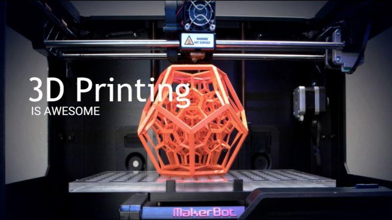 Δέκα απίστευτα πράγματα που κάνουν οι 3D εκτυπωτές