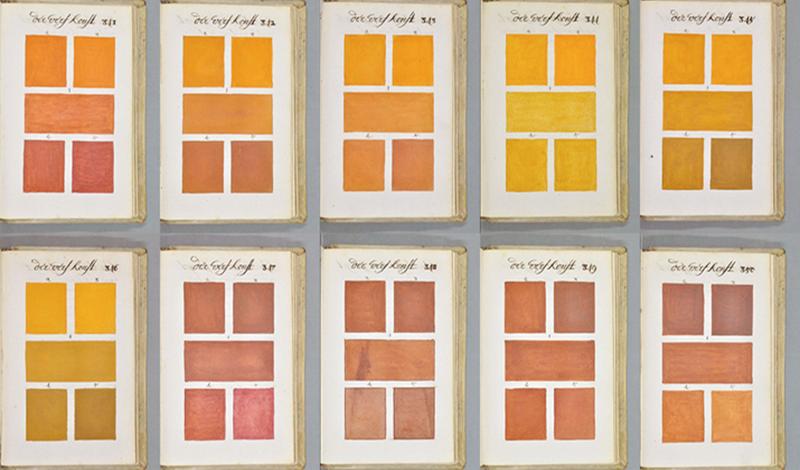 800 σελίδες χρώματος από το 1692