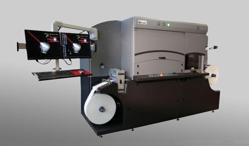 Νέος NW210 UV Digital Narrow Web Press