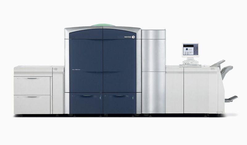 Η Xerox ενισχύει την Αυτοματοποίηση ενώ Παράλληλα  Εισάγει Χρυσό και Ασημένιο Μεταλλικό Μελάνι στη Νέα της Πρέσα  Xerox 800i/1000i