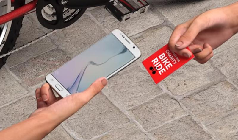 Επαγγελματικές κάρτες με ενσωματωμένη τεχνολογία NFC