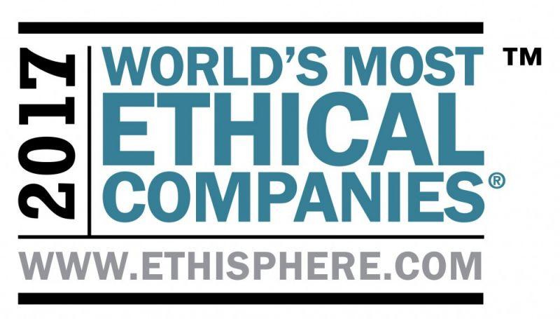 Η Xerox βραβεύεται ως μία από τις Πλέον Ηθικές Εταιρείες του Κόσμου.