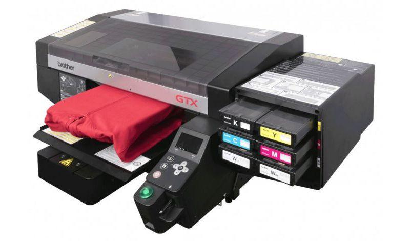 Τα νέα γενιάς direct to garment εκτυπωτικά Brother GTX  «οδηγούν»  την εκτύπωση ενδυμάτων σε νέα επίπεδα.