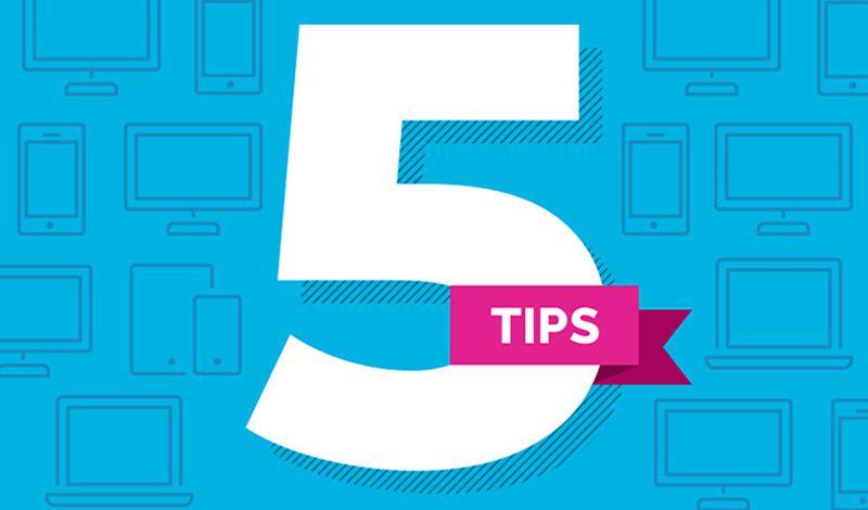 5 συμβουλές για καλύτερες εκτυπώσεις