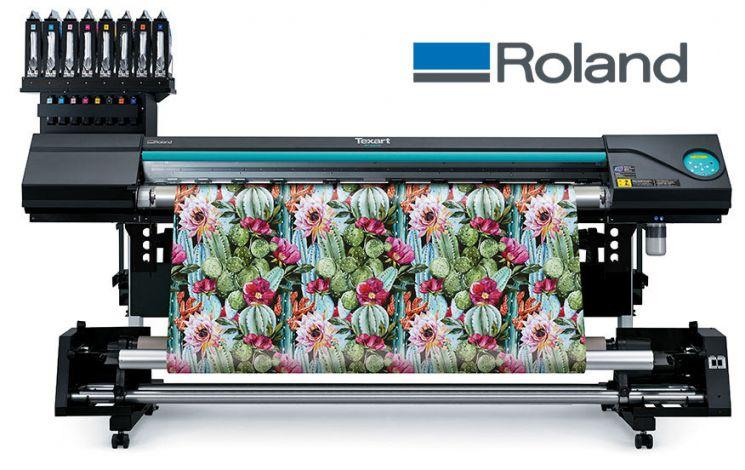 Νέο Sublimation εκτυπωτικό από τη Roland με διπλή λειτουργία.