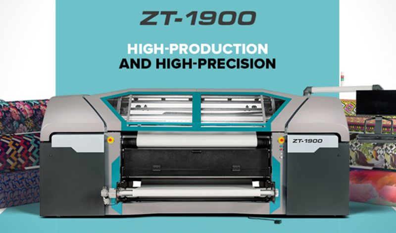 ZT-1900 Dye-Sublimation Εκτυπωτής
