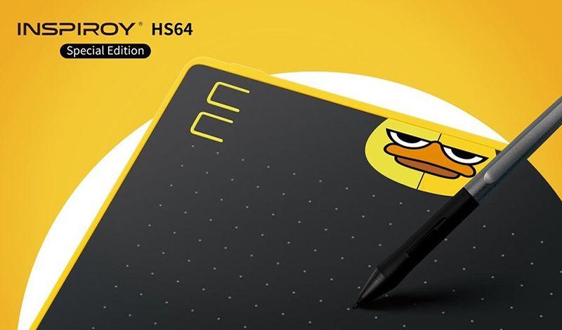 Τρία νέα μοντέλα Huion graphic tablet