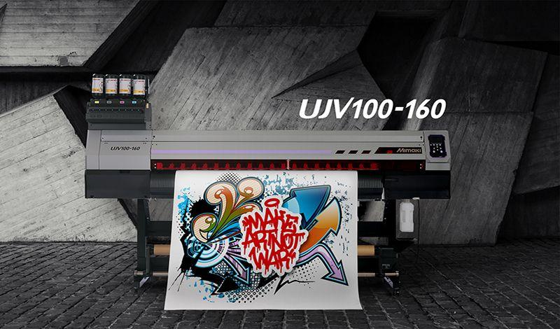 Βραβείο Best Roll-to-Roll Printer από την EDP στον νέο εκτυπωτή UJV100-160 της Mimaki