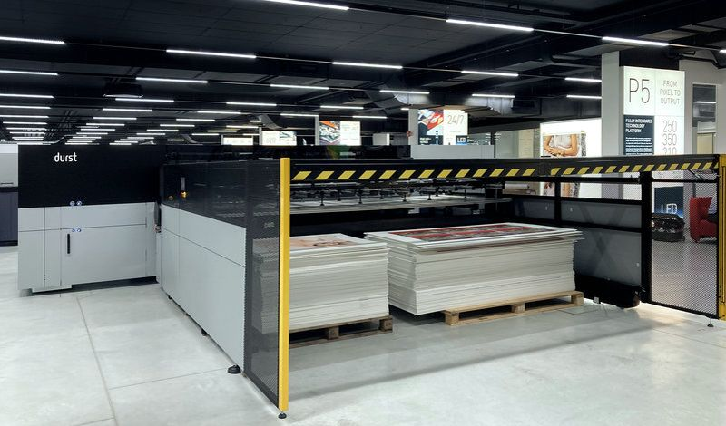 Παρουσίαση του νέου εκτυπωτή P5 350 HS της Durst