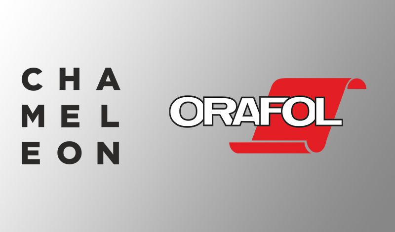 Νέα συνεργασία για την Chameleon graphics με την Orafol