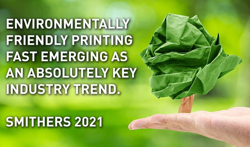 Η φιλική προς το περιβάλλον εκτύπωση αναδεικνύεται σε βασική τάση του κλάδου
