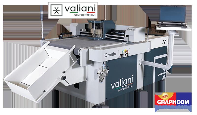 Valiani Omnia: πλήρης αυτοματοποίηση στην παραγωγή εκτυπώσεων & συσκευασιών