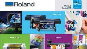 Η Roland DG θα επιδείξει προηγμένες λύσεις εκτύπωσης και κοπής και UV-LED λύσεις στη FESPA 2018