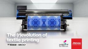 Νέος επαναστατικός ψηφιακός εκτυπωτής Mimaki TS55-1800