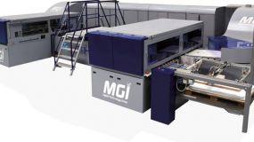 Η MGI παρουσίασε το σύστημα βιομηχανικών εκτυπώσεων AlphaJET στην All4Pack, 26 - 29 Νοεμβρίου 2018.