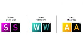 DURST: νέοι εκτυπωτές Ρ5 & νέα λογισμικά