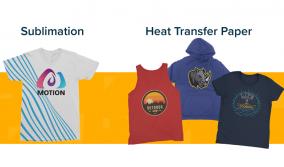Θερμομεταφορά VS Sublimation Printing
