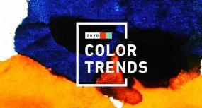 Χρωματικές τάσεις 2020