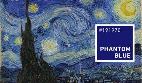Χρωματική τάση για το 2020: Phantom Blue