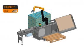 Παλετοποίηση Plug & Play με Συνεργατικό Ρομπότ από τον Όμιλο Θεοδώρου
