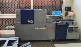Η ALL TO PRINT ΧΑΖΗΡΑΚΗΣ επενδύει σε τεχνολογία Digital Enhancement MGI JETvarnish