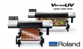 Πορτοκαλί και Κόκκινο Μελάνι για τα εκτυπωτικά Roland VersaUV LEC2
