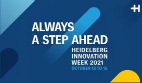 Always a step ahead. Innovation Week 2021